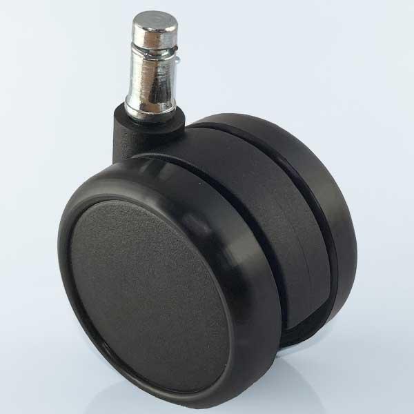 Zachte wielen 65 mm met stift 11 mm